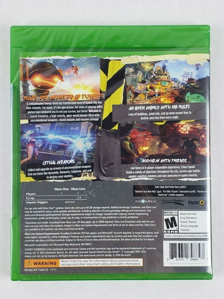 Sunset Overdrive Day One Edition (Microsoft Xbox One