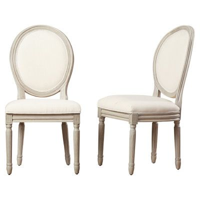 Birch Lane Falgoust Upholstered King Louis Back Side Chair Dining Chairs Furniture Side Chairs