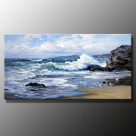 New Painting Landscape Acrylic Ocean Ideas Ocean Art Painting Ocean Painting Seascape Paintings