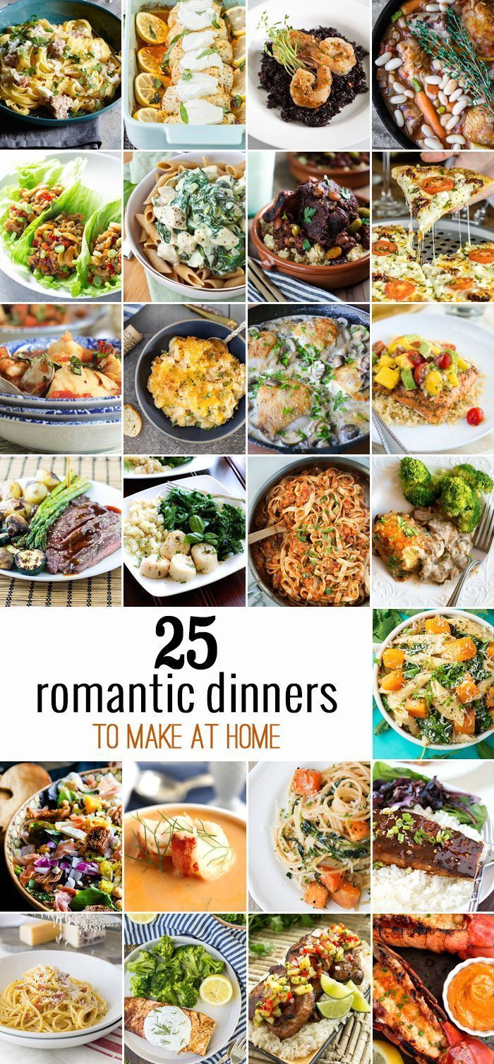 10 Romantic Dinners to Make at Home images