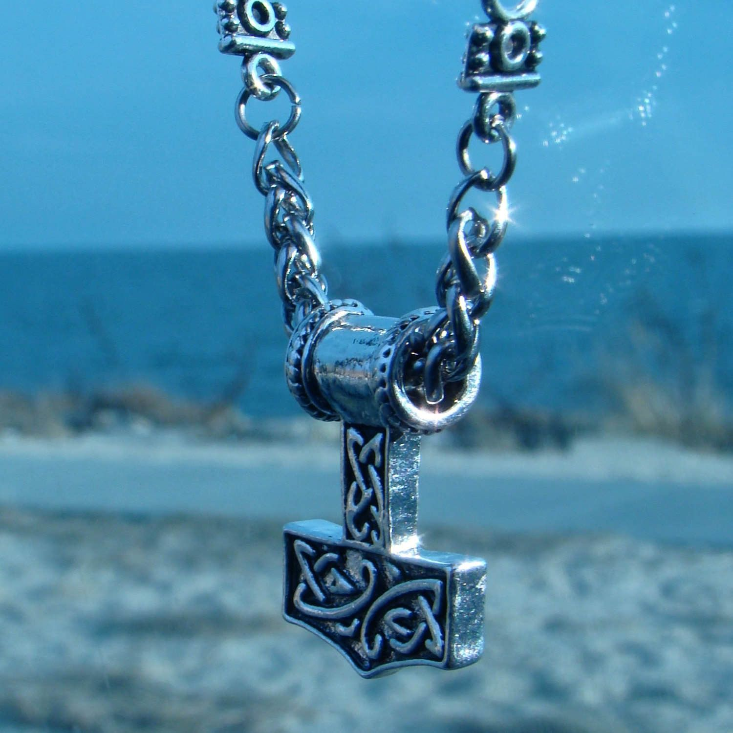 lisa bail link knot classic a celtic and pin you as pendant necklace barth warrior the for