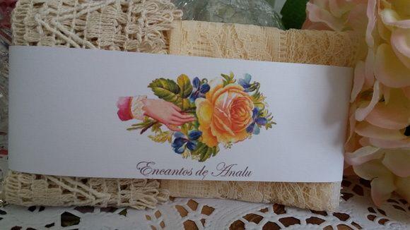 Conjunto de rendas Mademoiselle