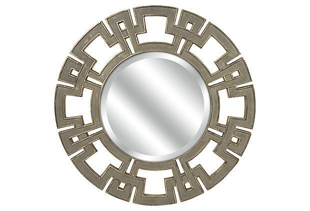 Gustave Round Wall Mirror on OneKingsLane.com
