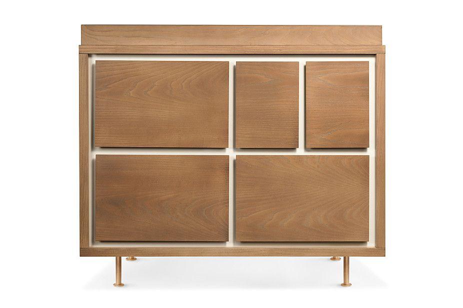 Novella 5-Drawer Dresser & bassinet   Nursery Works   $1395