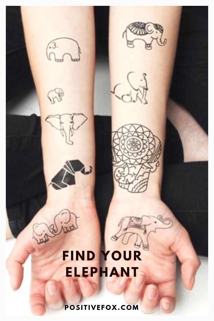 Elephant Tattoo Designs Most Popular Elephant Tattoos With Meaning Elephant Tattoo Design Simple Elephant Tattoo Elephant Tattoos