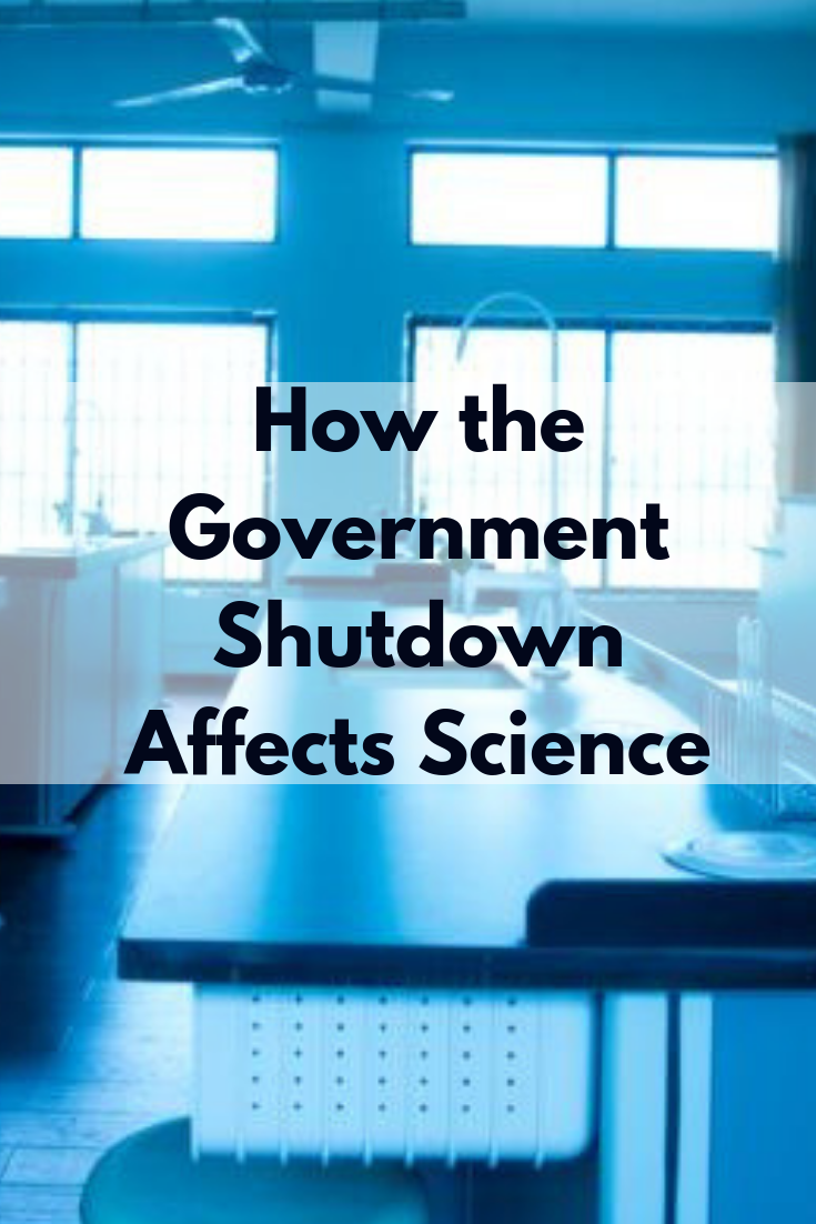 How The Government Shutdown Affects Science Government Shutdown Science Government