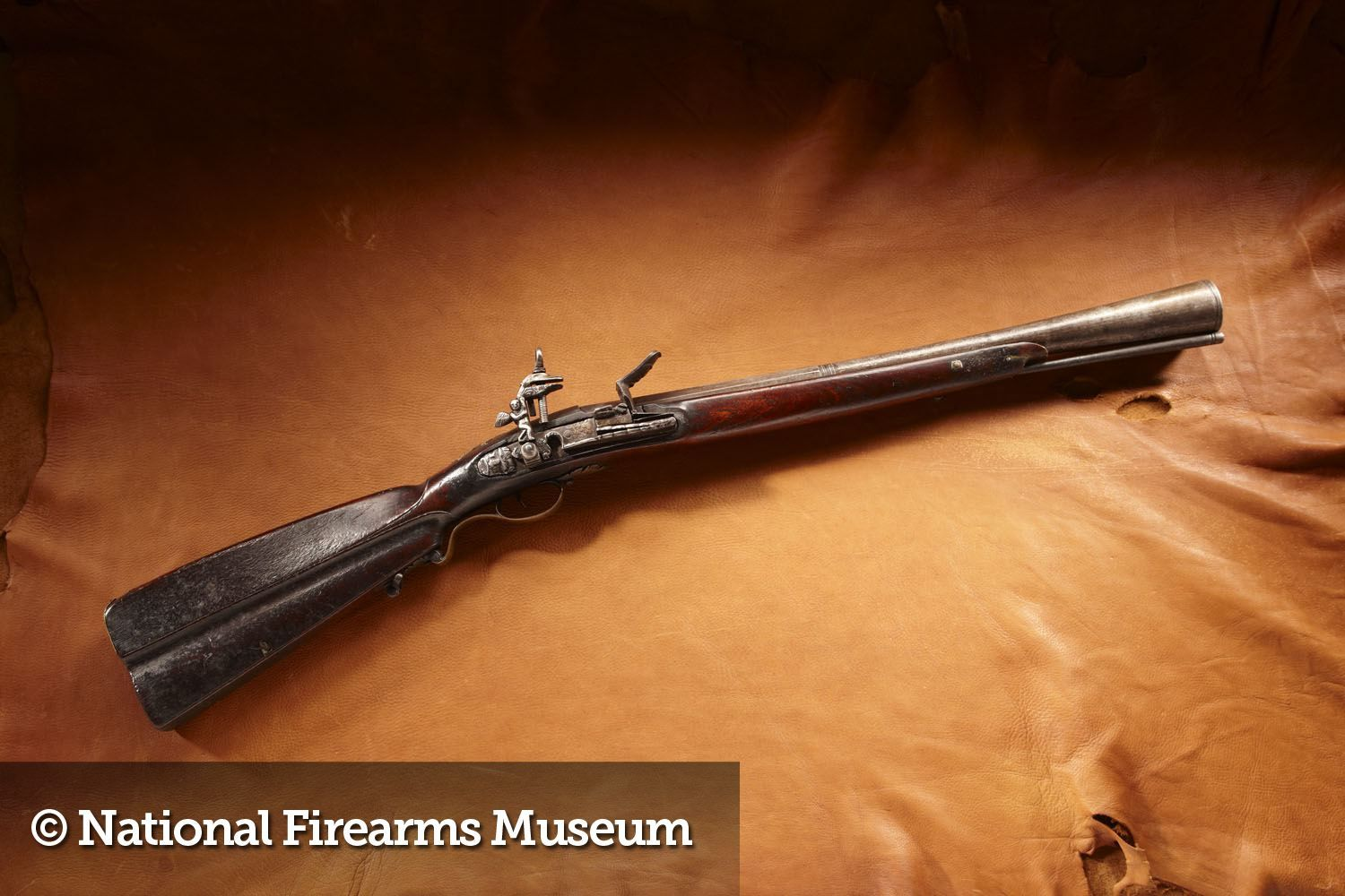 Mid-17th Century Spanish Colonial Miquelet-Lock Blunderbuss (single