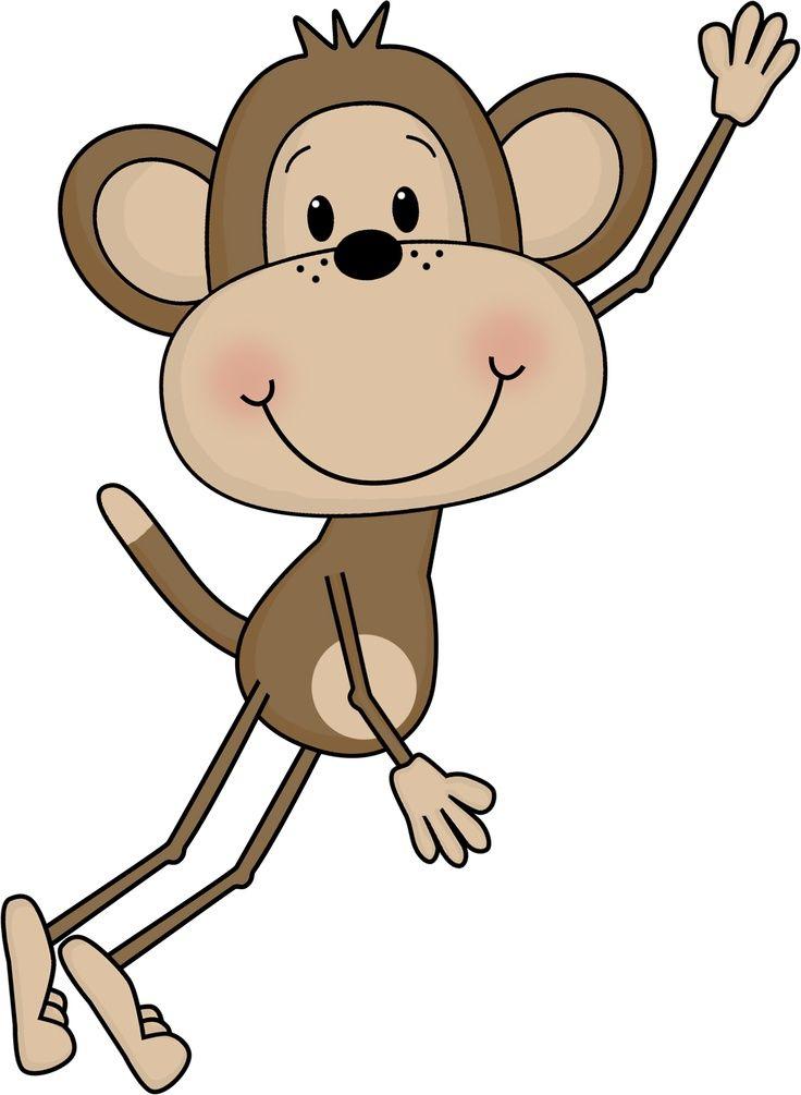swinging monkey clipart free clip art images artsy fartsy rh pinterest com monkey face clipart free cute monkey clipart free