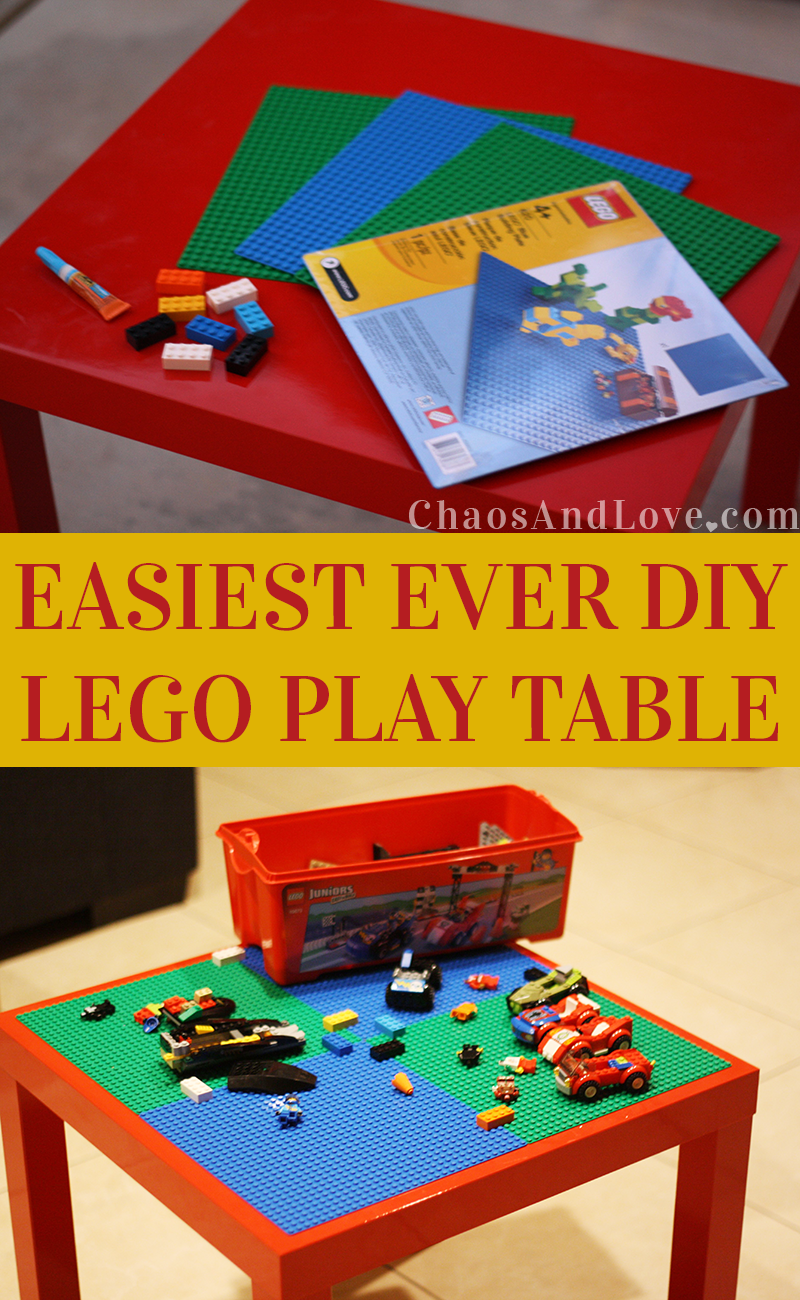 pin by jessica chaos love on chaos love pinterest diy lego table lego and toy. Black Bedroom Furniture Sets. Home Design Ideas