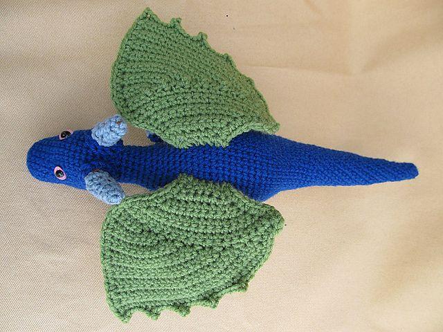 Snap the Dragon pattern by Deb Richey