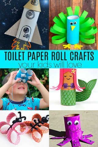 Photo of Toilet Paper Roll Crafts for Kids- 20 Fun Toilet Paper Roll Crafts