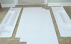 How To Install Glue Up Shower Walls Bathtub Walls Wall Paneling