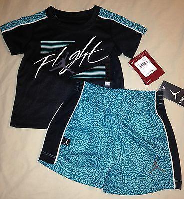 d9bbf51ab25562 Boys 12 months jordan flight elephant print shirt shorts nwt