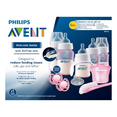 Philips Avent Anti Colic Bottle With Airfree Vent Gift Set