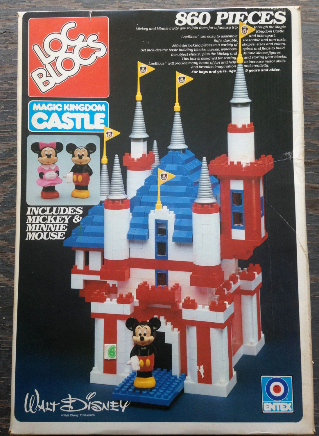 Fisher Price Little People MINNIE MOUSE RED DOT Magic Kingdom Disney Palace