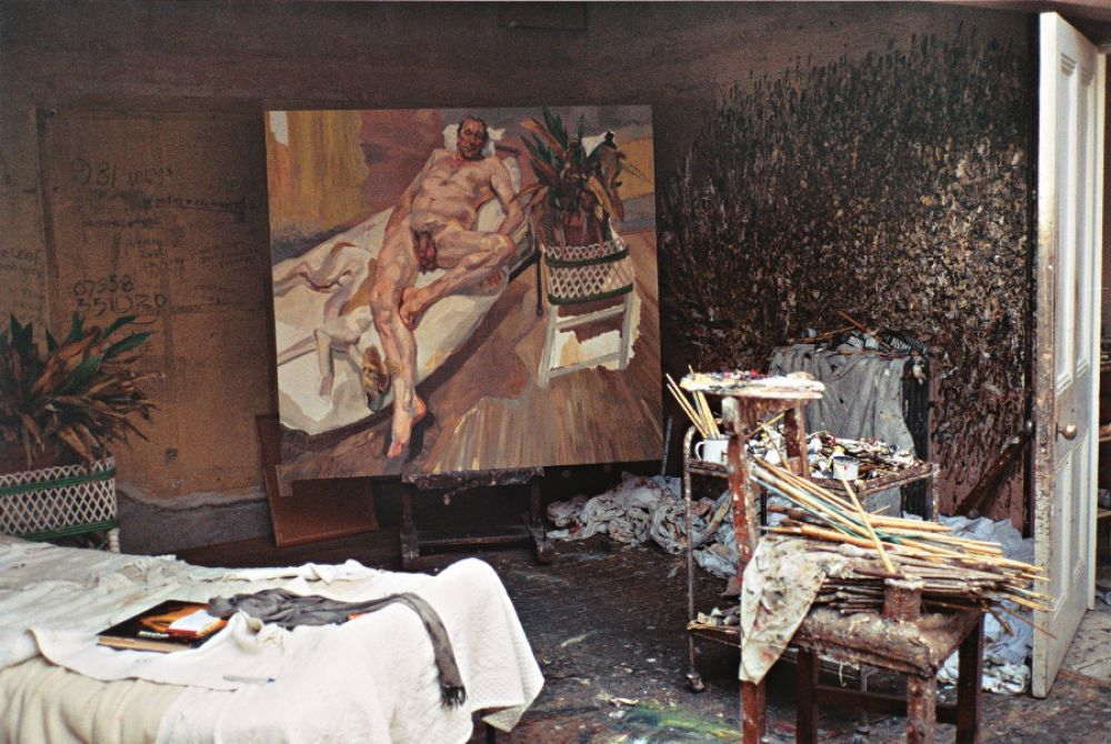 The private space of Lucian Freud revealed