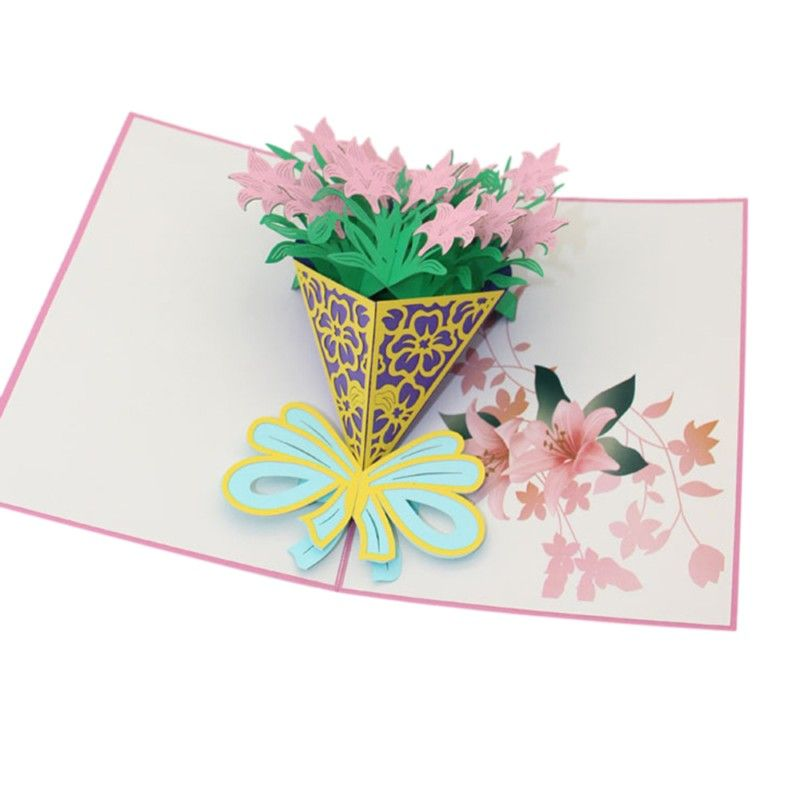 3d flower pop up greeting card happy birthday music led lighting 3d flower pop up greeting card happy birthday music led lighting carving art paper craft invitations m4hsunfo Image collections