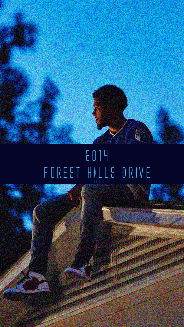 j cole Forest Hills Drive J Cole iphone case