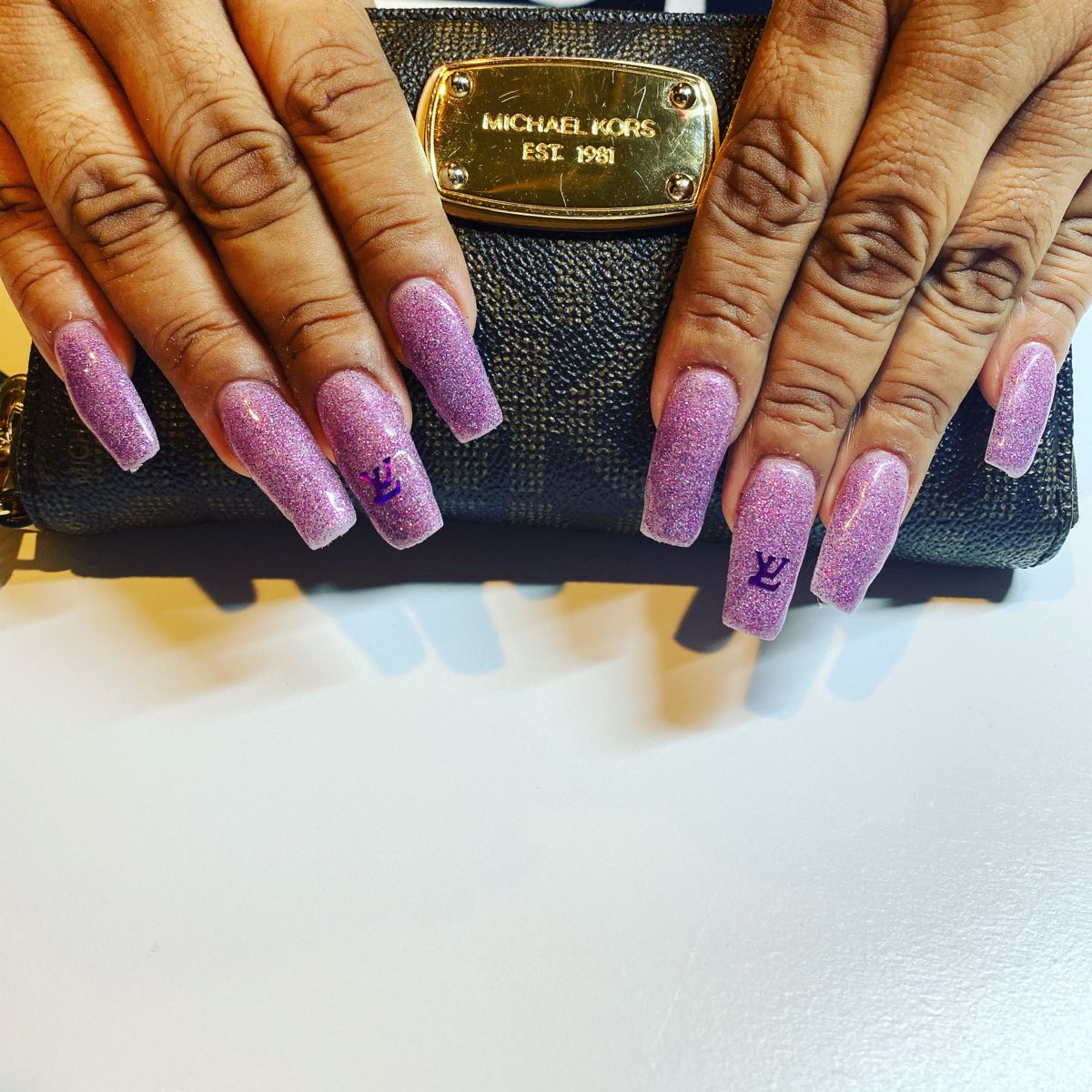 Pink Dust in 2020 Acrylic nails, Nails, Pink