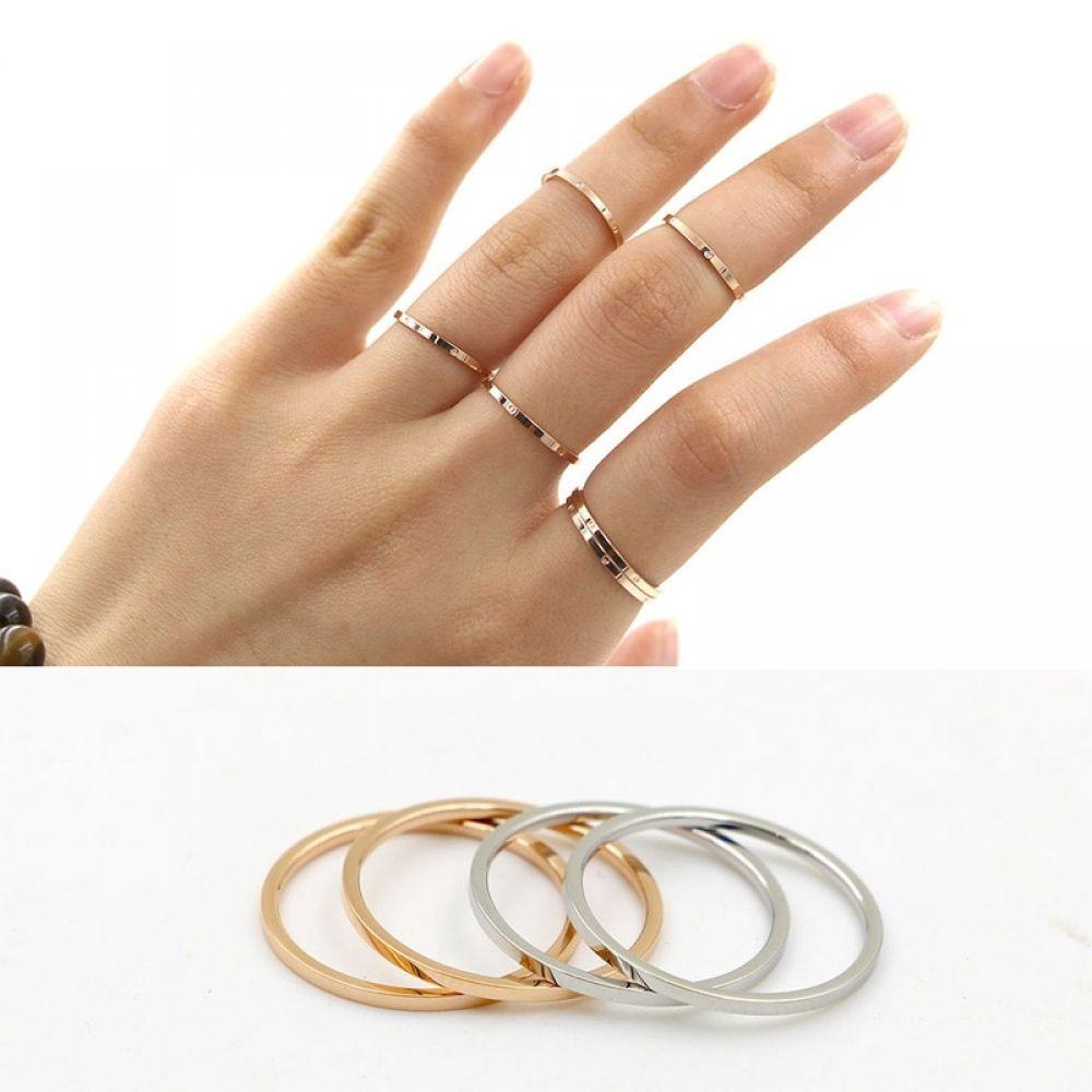 Couple Ring Beautiful Fashion Silver Pretty Cute Women Mesh Hot Ring Jewelry Hot