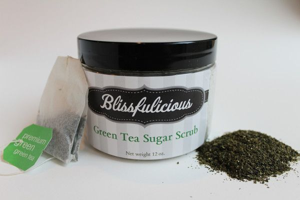 One word describes our Green Tea Sugar Scrub: Anti-Aging. Because of the dramatically high levels of antioxidants this powerhouse has been shown to protect against aging, including the effects of sun damage! In fact, several University studies have shown that green tea decreases the effect of sunburn if applied topically, and is an excellent antibacterial and anti-inflammatory agent.  What's not to love?