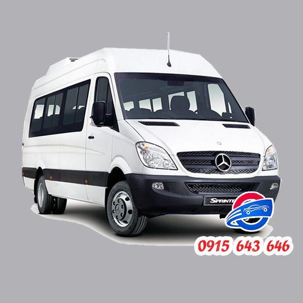 Thuê xe 16 chỗ tại Đà Nẵng Mercedes Sprinter