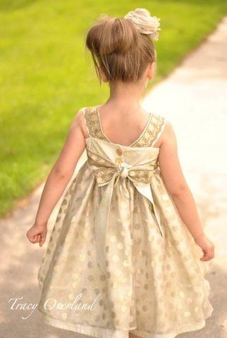 Simone\'s Chiffon Simple and Ruffled Dress PDF Pattern   Pinterest