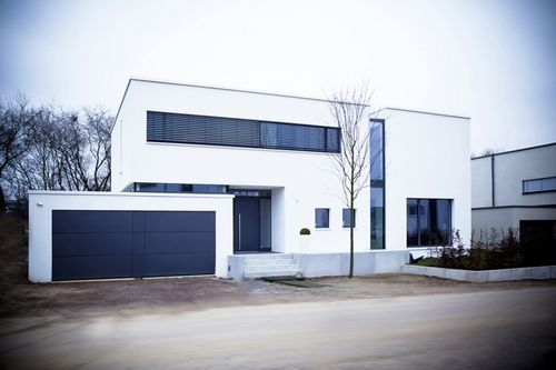 Neubau eines einfamilienhauses in 50259 pulheim brauweiler for Minimalistisches haus grundriss