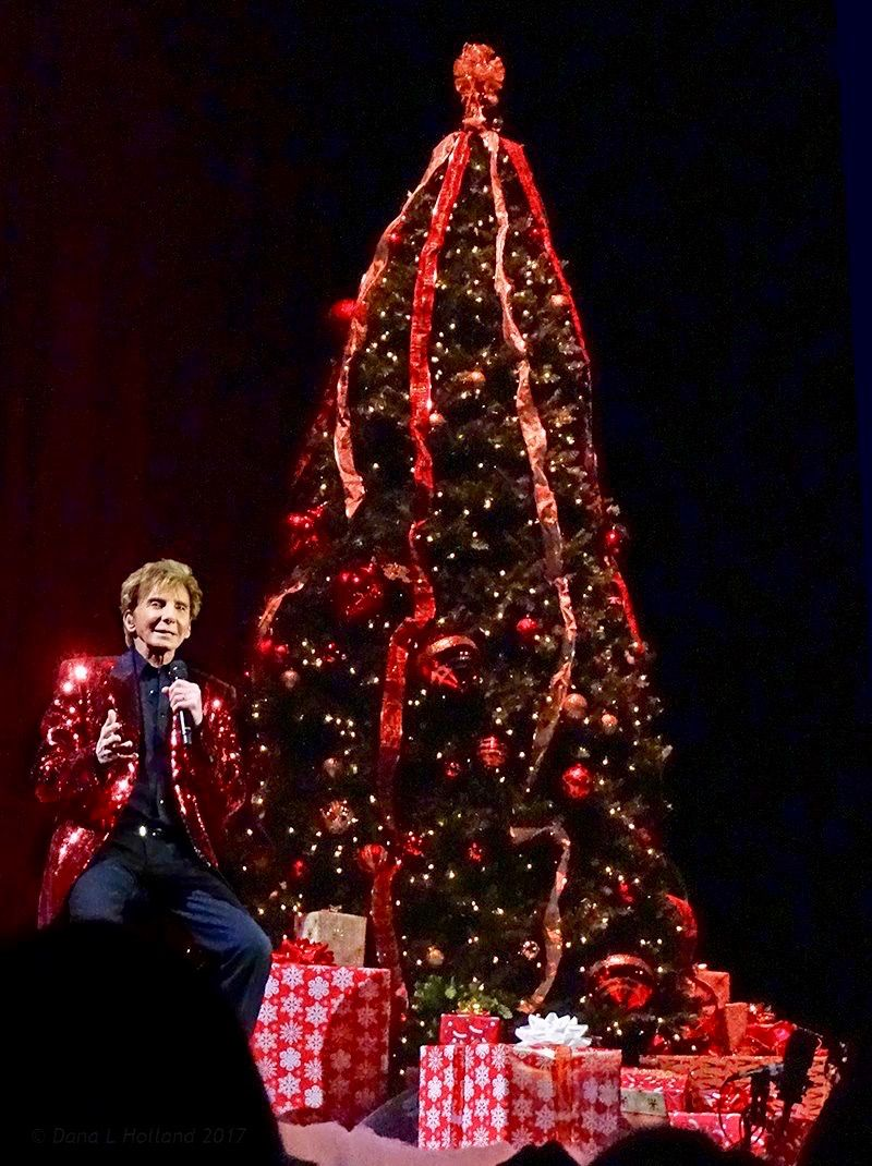 For the first time ever, Barry Manilow took his Christmas show on ...