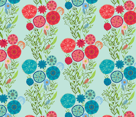 in bloom fabric by bethan_janine on Spoonflower - custom fabric