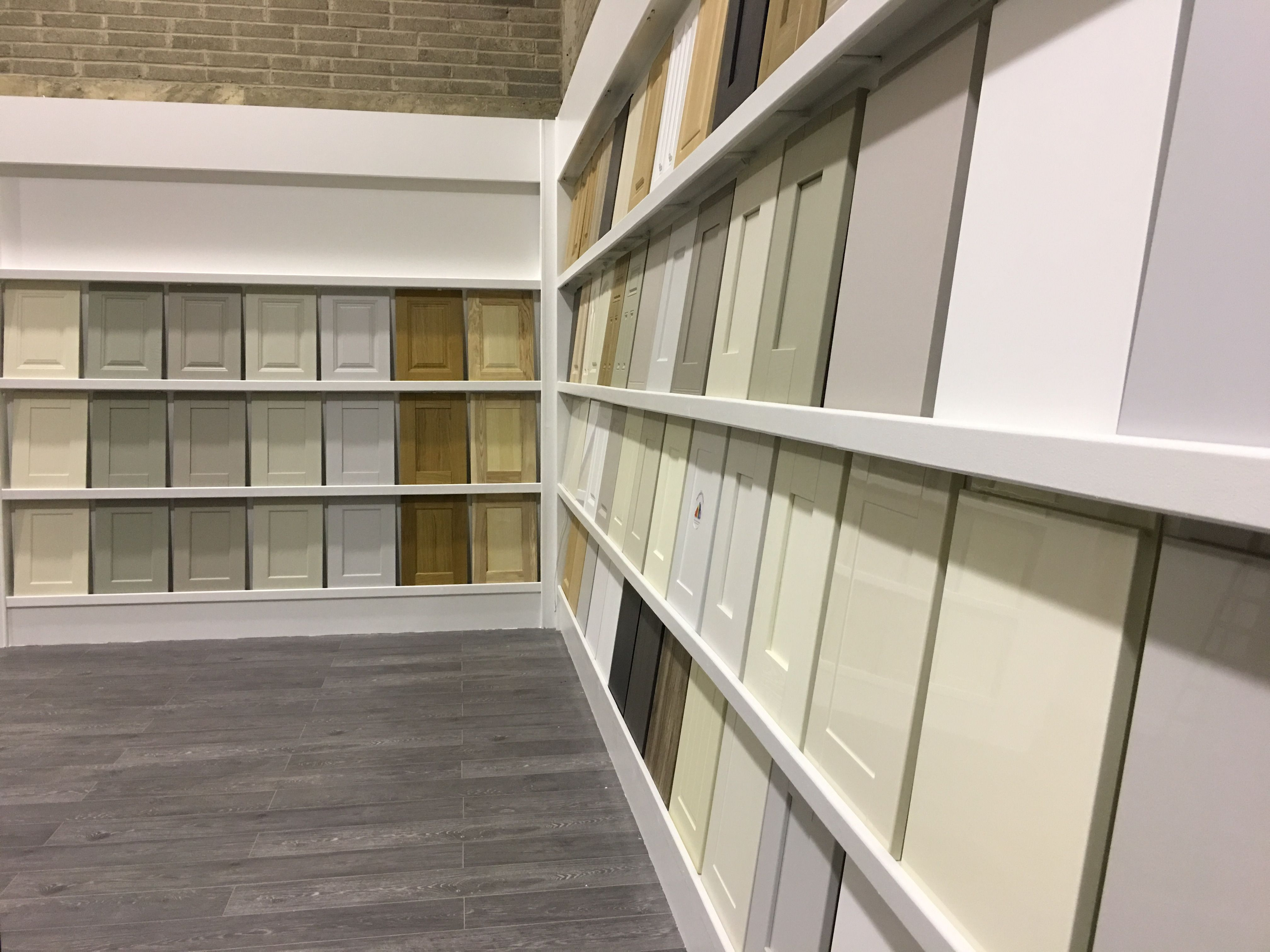 The New Kitchen Door Collection On Display In The Showroom The Ideal Starting Place For A Kitchen Kitchen Design Showrooms New Kitchen Doors Kitchen Showroom