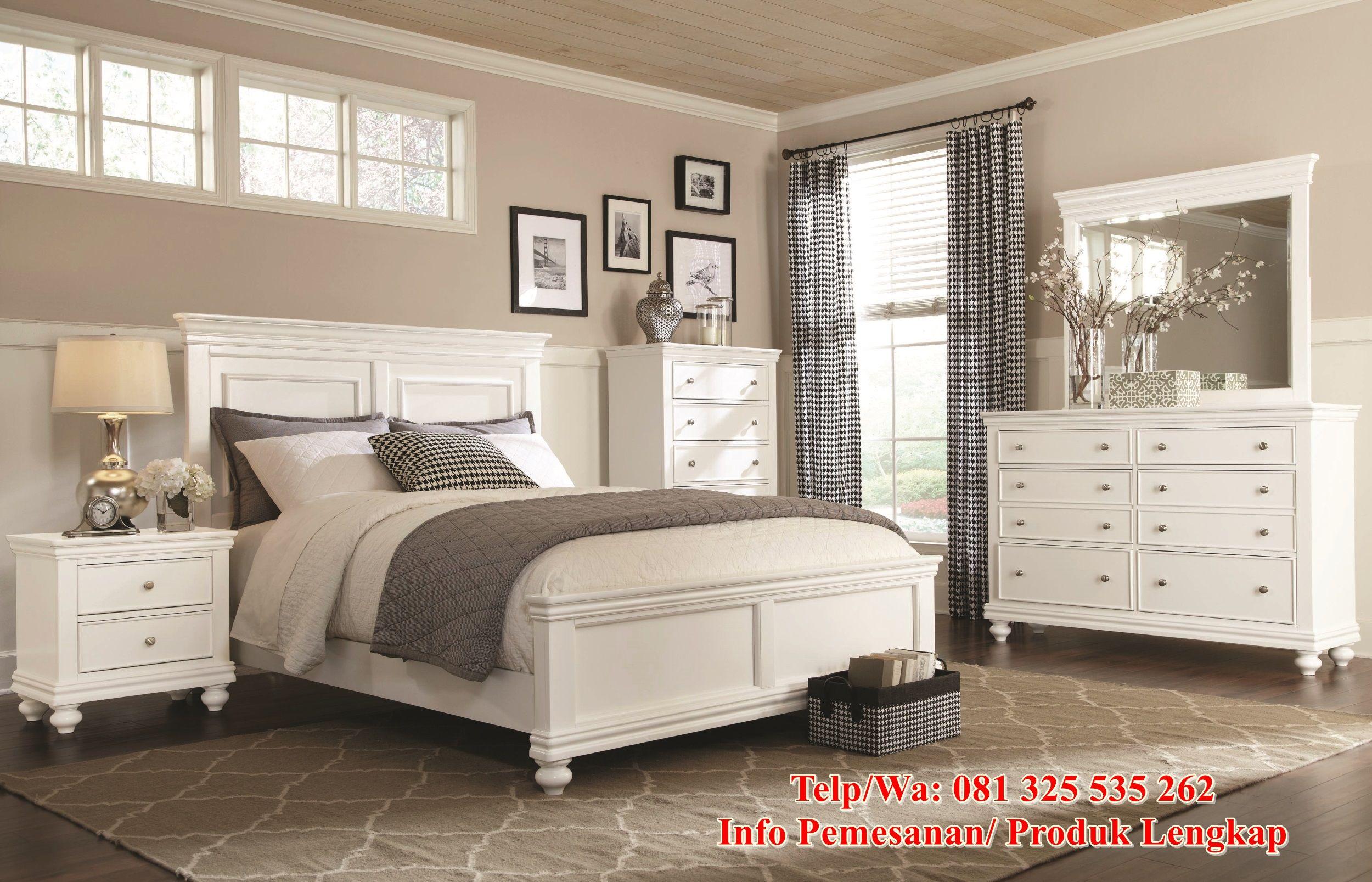 Desain Set Tempat Tidur Minimalis Modern Paling Populer