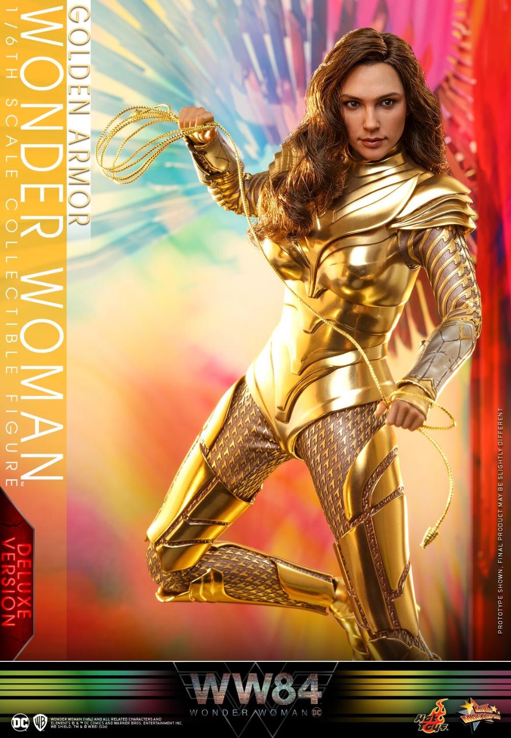 Golden Armor DC Wonder Woman Film 1984 Wonder Woman Doll