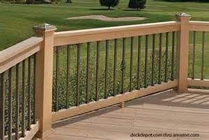 Aluminum porch railing aluminum deck railing deck for Sutherlands deck kits