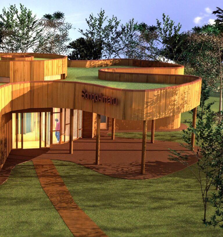 Symbiosis 03 madera for Proyectos de construccion de escuelas