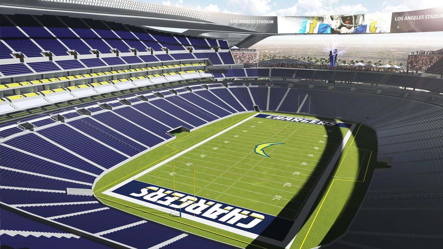 Nfl In L A Here Are Some Predictions For The Next Few Months Stadium Nfl Stadiums Sports Wallpapers