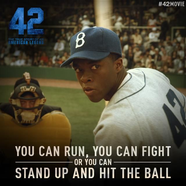 "30 Best Movie Baseball Cards Images On Pinterest: ""The Jackie Robinson Story"""