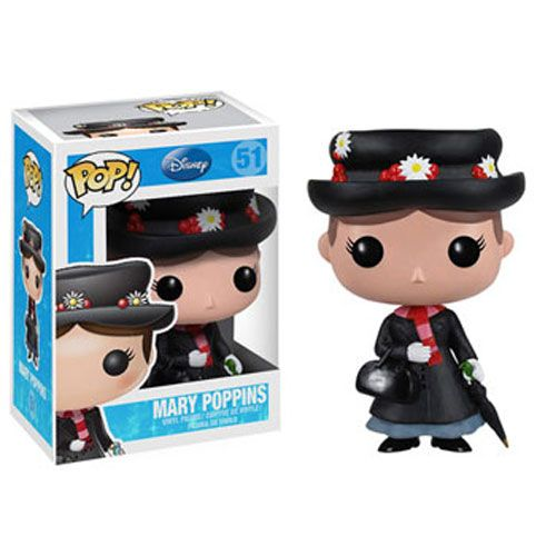 Funko Toys POP Movies Mary Poppins Mary w// Kite Figure #468 POP!