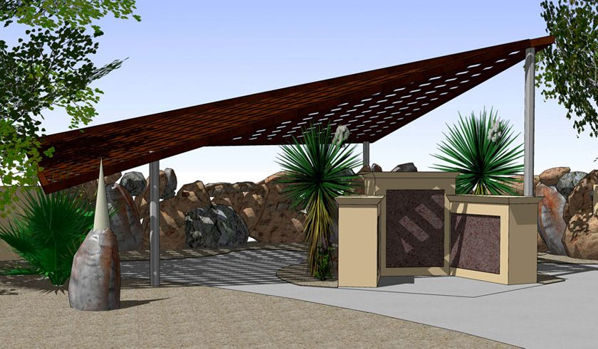 Architecture Steel Shade Structure Shade Structure Pergola