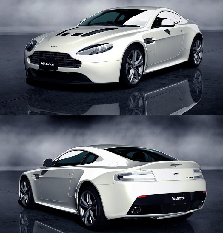 Aston Martin V12 Vantage: Aston Martin V12 Vantage...I'll Take Two. A Red One And A