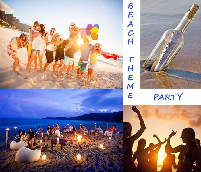 Beach Theme Party Nothing Except Fun Is Invited In 18th Birthday