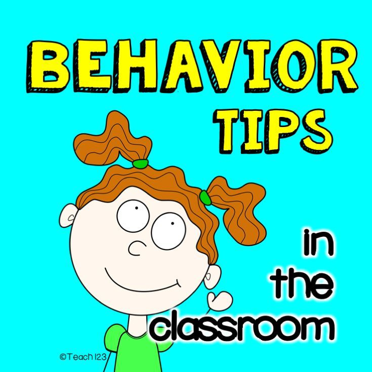 Tips for behavior and discipline in the classroom.
