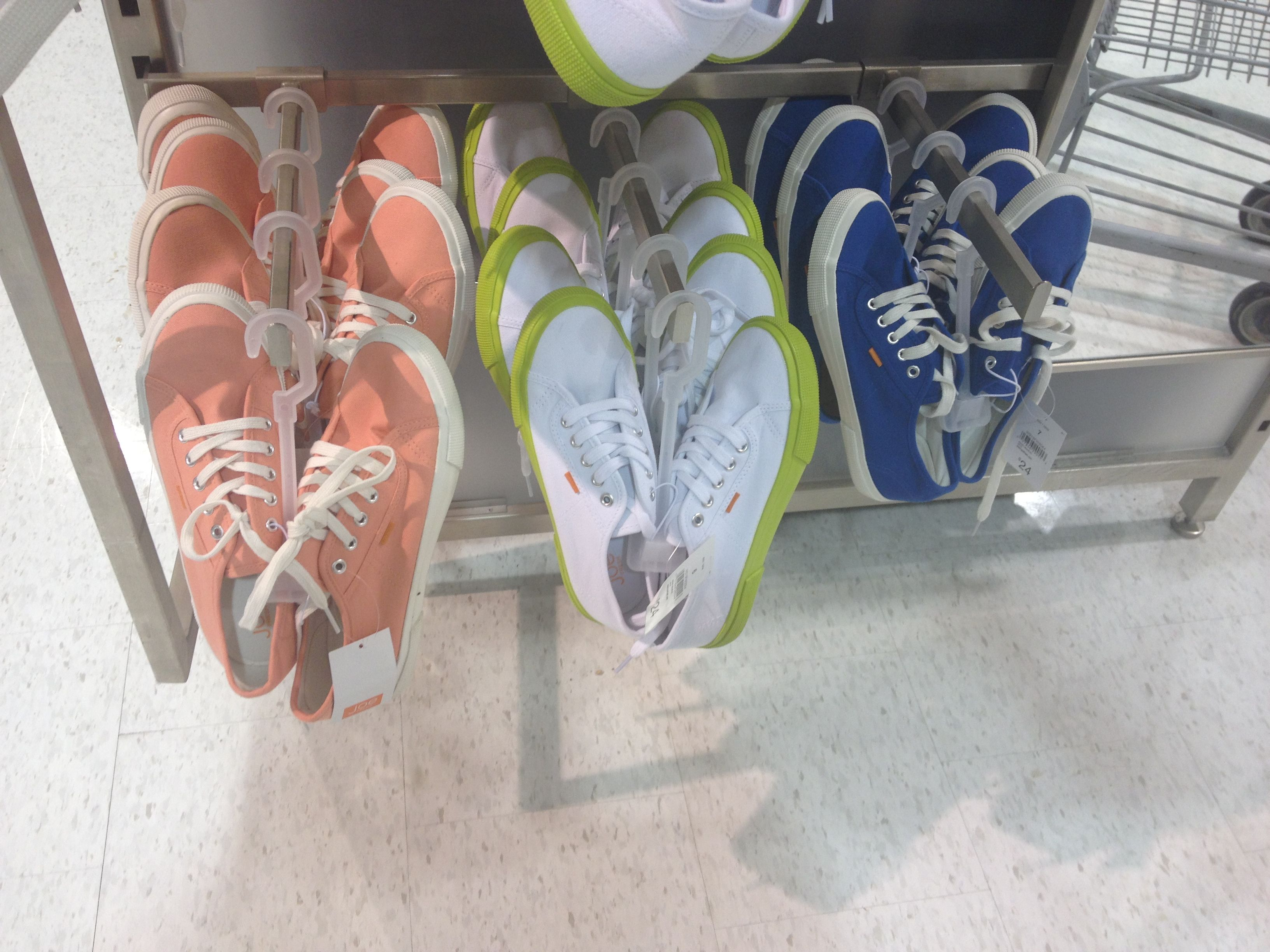Love these sneakers at joe fresh! Especially the coral ones