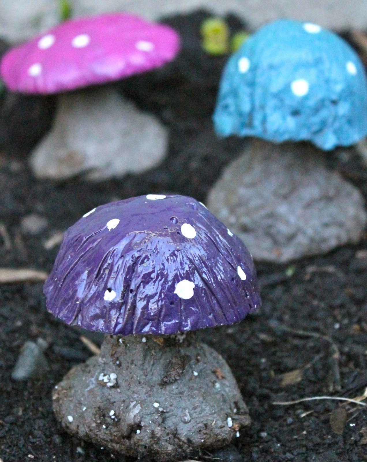 Bezaubernd Garten Gestalten Mit Wenig Geld Das Beste Von Ideen Für - Diy Deko Pilzen Anleitung