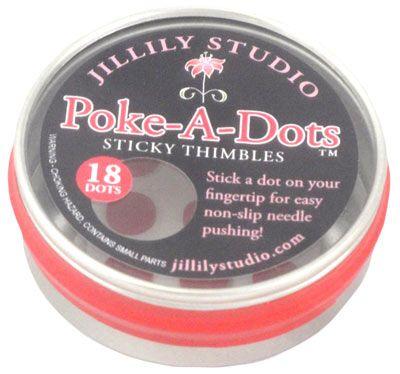 Poke-A-Dots Sticky Thimbles - Jillily Studio
