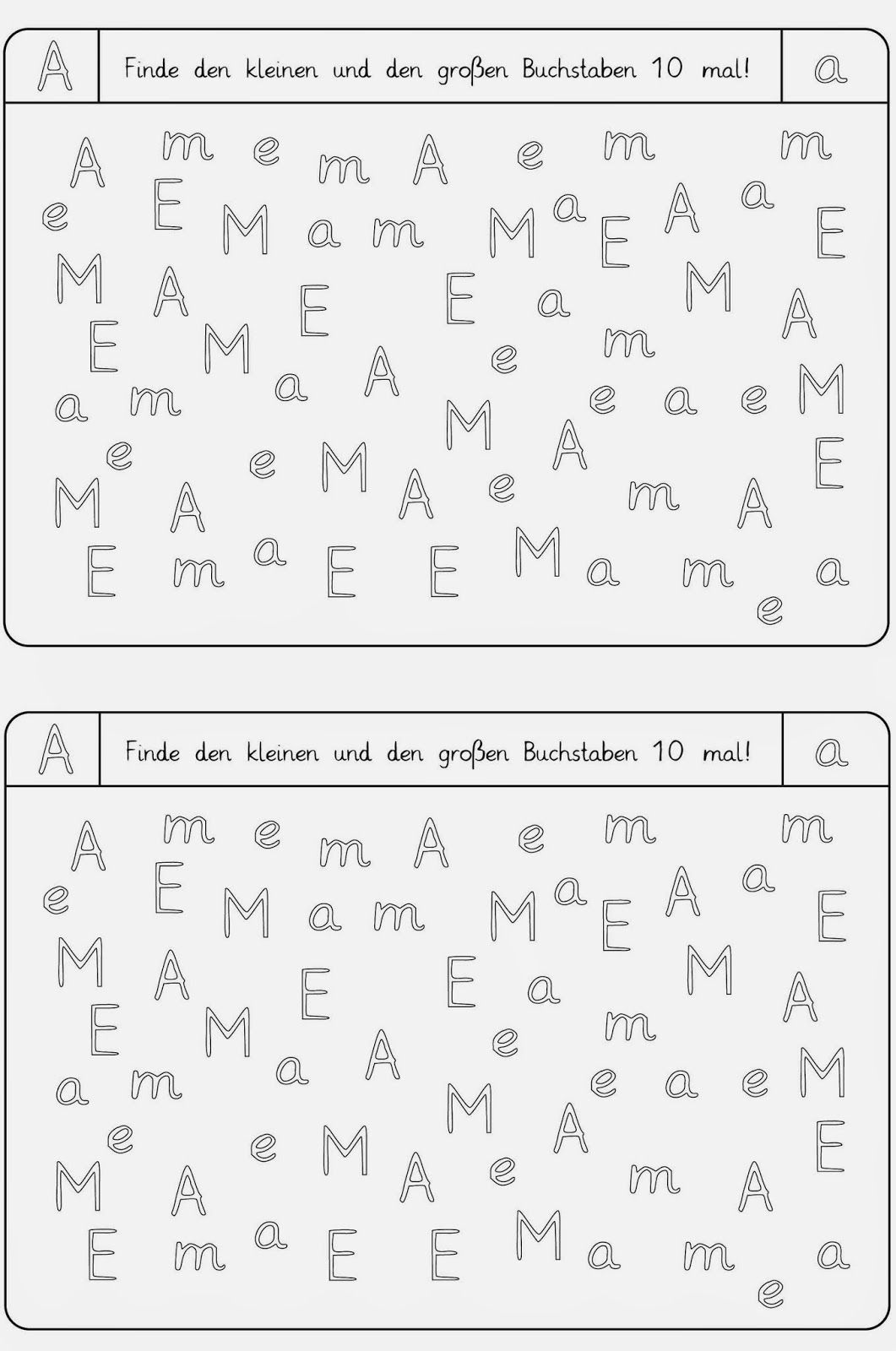 Worksheets to recognize the letters - Lessons: Worksheets to recognize the letters You are in the right place about school look  Here we o - #letters #recognize #worksheets