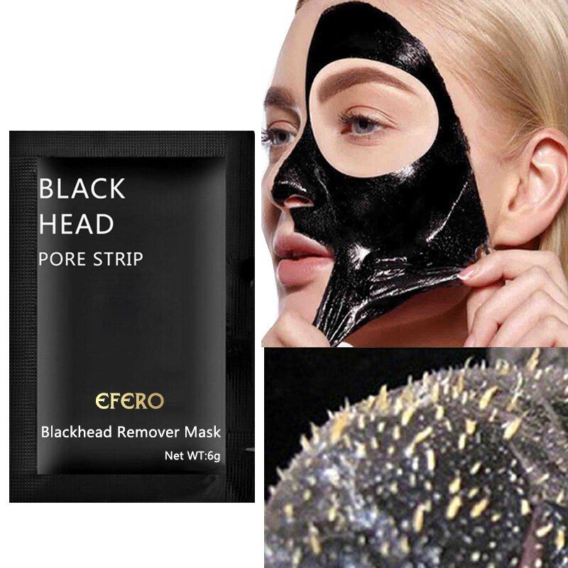 Photo of Blackhead Remove Face Masks Deep Cleansing Purifying Peel Off Black Face Black Mask Blemishes Acne Treatment Oil Control 3pcs – Emporiaz700572