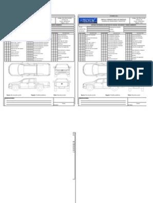 Formato Check List Vehiculos Doble Vehiculos Cotizacion Formato Formato