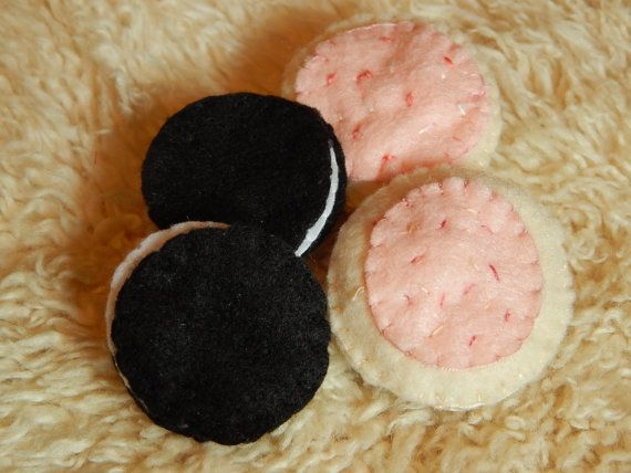 Felt+Cookies++Imagination+Toy+Pretend+Play+by+MorgansMercantile