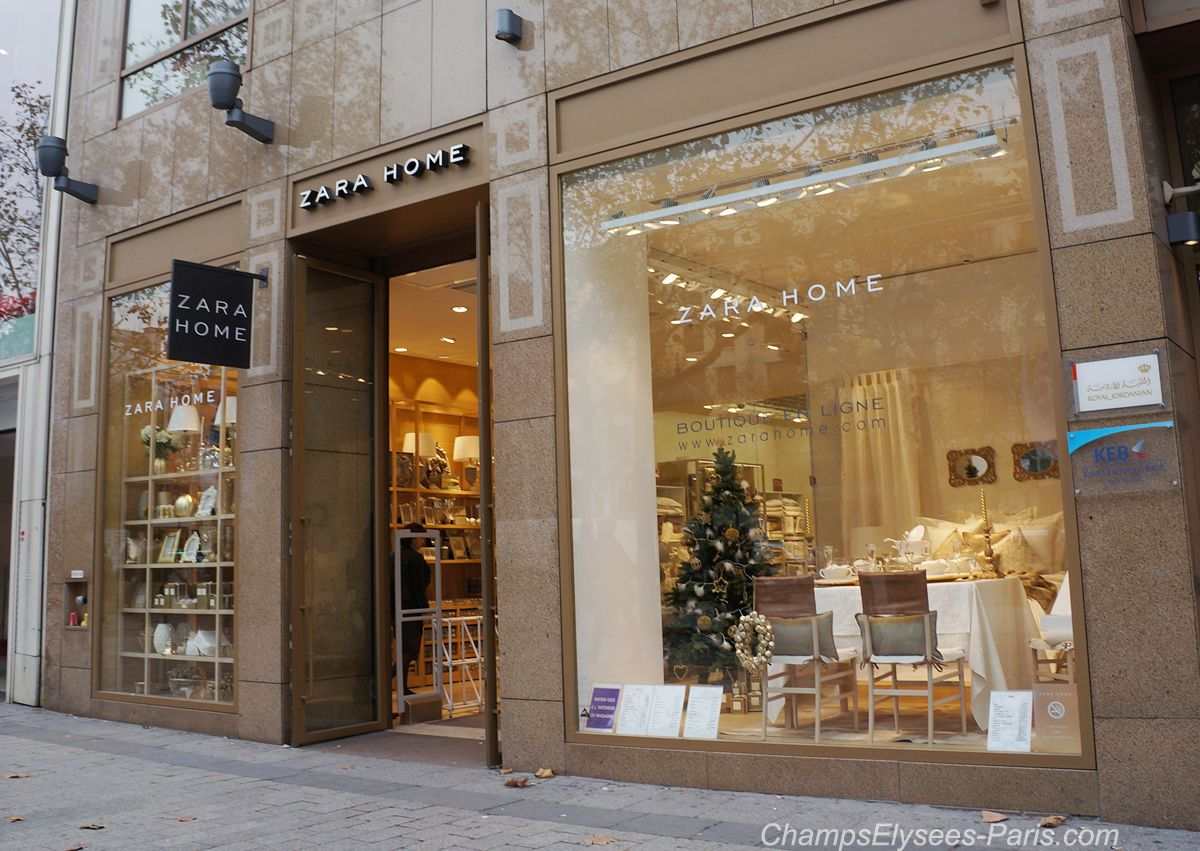 Champs elysees paris vitrines fa ades de no l 2014 zara home champs elysees noel 2014 more - Vitrine de noel paris ...